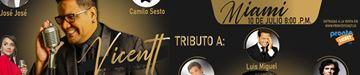 Vicentt - Tributo a Camilo Sesto Luis Miguel y Jose Jose