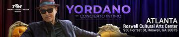 Yordano en Concierto Intimo - Atlanta