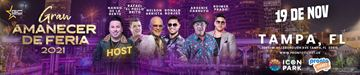 Gran Amanecer de Feria 2021 ( +18 ) - Tampa